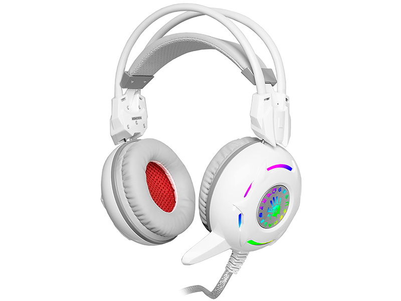 Gaming headset A4TECH BLOODY G300 WHITE